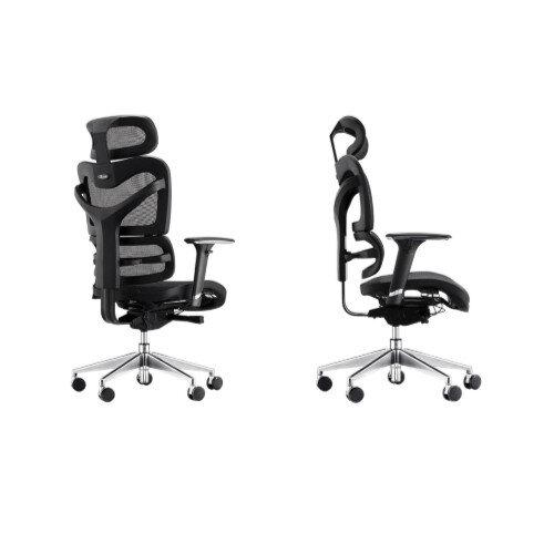 Dorsum Executive Ergonomic Mesh Chair with Headrest Black Additional Image 2
