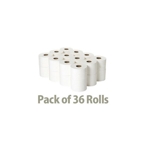 Papernet Special Toilet Tissue Paper Rolls White 2 Ply 210 Sheets Pack 36 411381 Additional Image 2