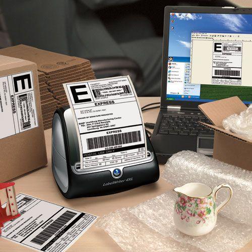 Dymo Labelwriter 4XL Label Machine - Label printer - thermal paper - Roll  (11 5 cm) - 300 dpi - up to 53 labels/min - USB