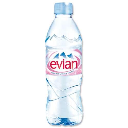 Evian Mineral Still Water 500ml Bottle Pack 24 ...
