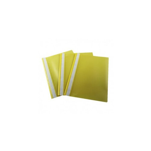 Pack of 25 Q Connect A4 Project Folder Yellow