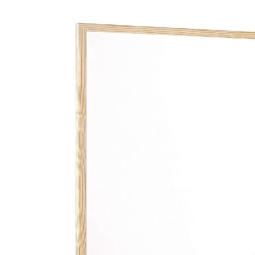 Q-Connect KF03572 Whiteboard Wooden Frame