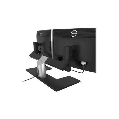 Dell MDS14 Dual Monitor Stand - Stand for 2 monitors - black