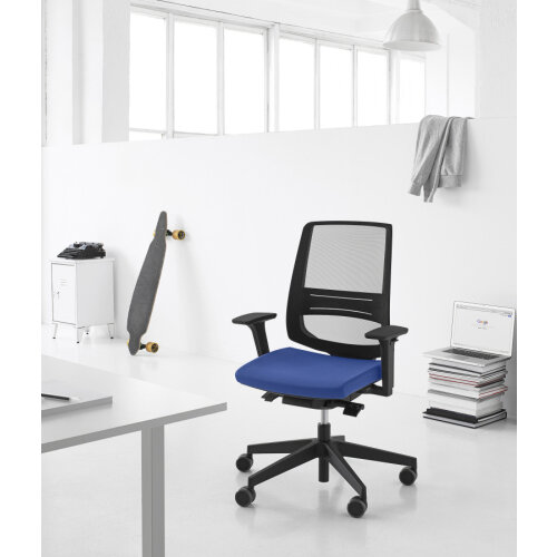 LightUp Modern Design Mesh Office Chair With Lumbar ...