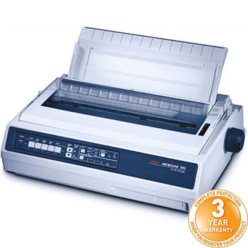OKI ML395B Dot Matrix Printer 00035719