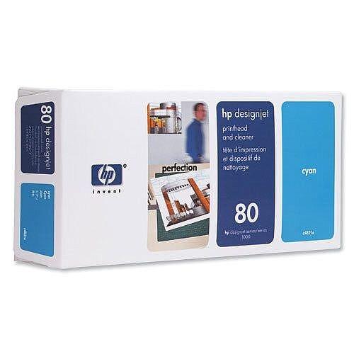 HP 80 Cyan Printhead C4821A