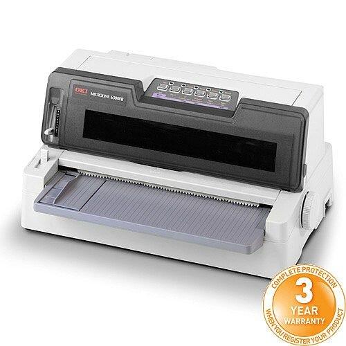 Oki Microline 6300FB Dot Matrix Printer ML6300-FB