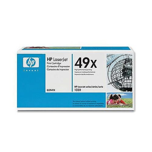 HP 49X Black High Yield Toner Cartridge Q5949X