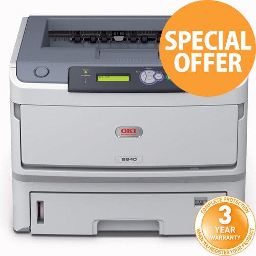 Oki B840DN Mono Laser Printer 01308001