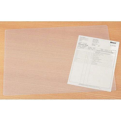Durable Transparent Desk Mat W650 x D500mm