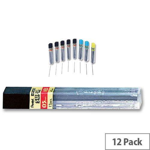 Pentel C505 HB Refill Lead 12 x 0.5mm Per Tube - 12 Tubes