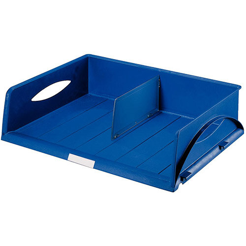 Leitz Sorty Jumbo Letter Tray W470mm Landscape A3 Blue Pack of 6
