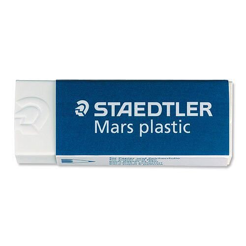 Staedtler Mars Eraser Self Cleaning Pack 20