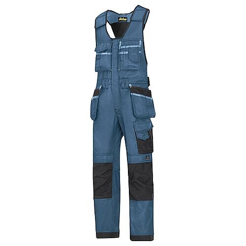 "Snickers 0212 Craftsmen One-piece Holster Pocket Trousers DuraTwill Size 152 36""/6'2"" Blue/Black"