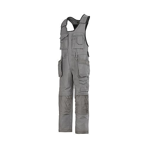"Snickers 0214 Craftsmen One-piece Holster Pocket Trousers Canvas+ Size 152 36""/6'2"" Grey"