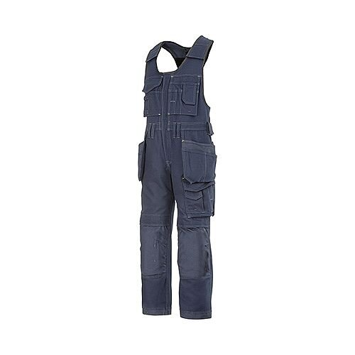 "Snickers 0214 Craftsmen One-piece Holster Pocket Trousers Canvas+ Size 152 36""/6'2"" Navy"