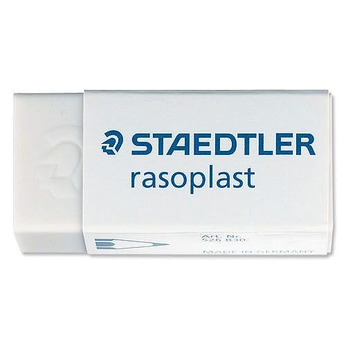 Staedtler Rasoplast Rubber Self Cleaning Pack 30