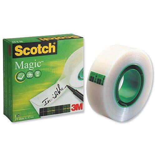 Scotch Magic Tape 19mm x 33m Matt