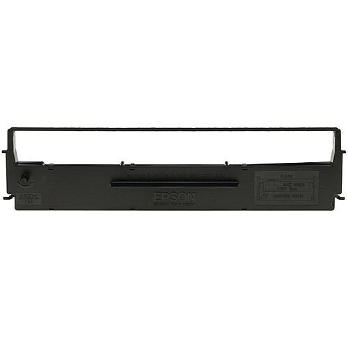 Epson SIDM Ribbon Cassette Fabric Nylon Black [for LX-350 LX-300] Ref C13S015637