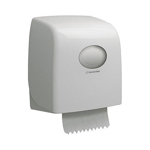 Kimberly Clark Aquaris Slim Roll Hand Towel Dispenser White 6953