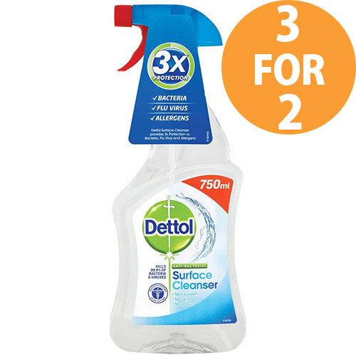 Dettol Surface Cleanser Spray 750ml Ref 14781 (3 for 2) Feb 2020