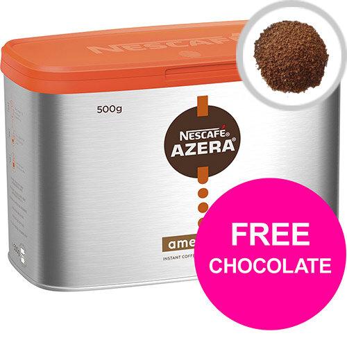 Nescafe Azera Instant Americano 500g Ref 12284221 (Buy 2 get Free YES! Sea Salt Dark Choc Pk24) Mar 2020