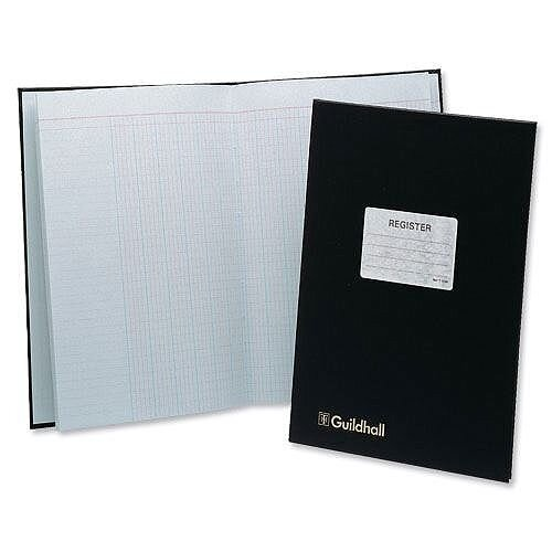 Guildhall Attendance Register Black T1030