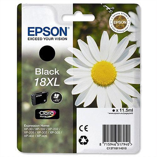 Epson Daisy 18XL Black Ink Cartridge High Capacity T1811