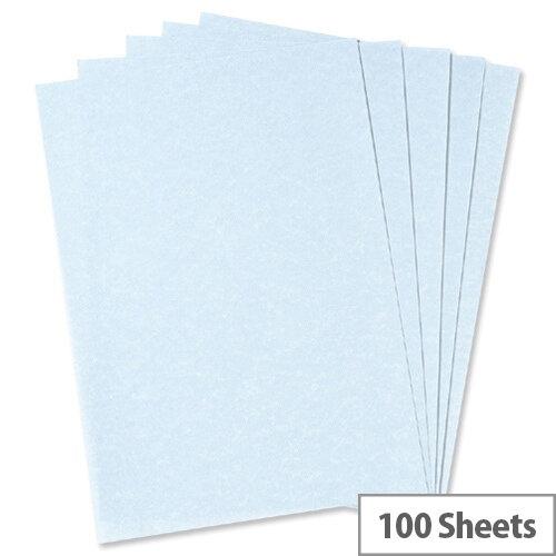 A4 100gsm Blue Parchment Premium Paper 100 sheets