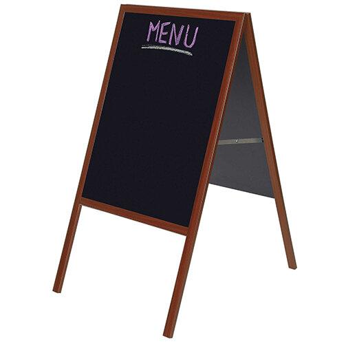 Franken Chalk A-Board Blackboard W536xH836mm A-frame H1200mm Ref BSKA1