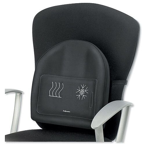 Fellowes Professional Series Heat and Soothe Back Support Ref 9190001