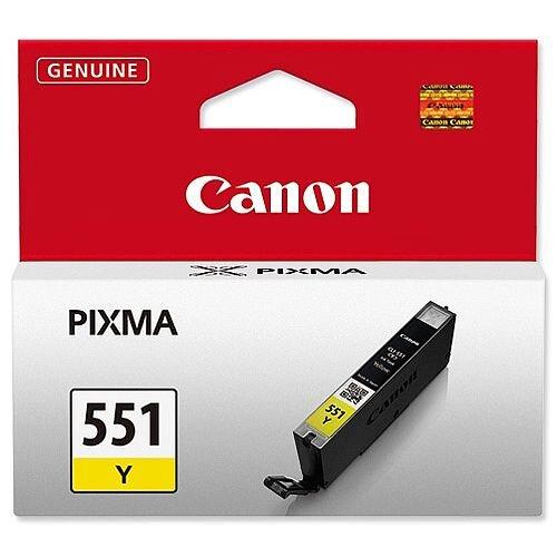 Canon CLI-551Y Yellow Inkjet Cartridge 6511B001
