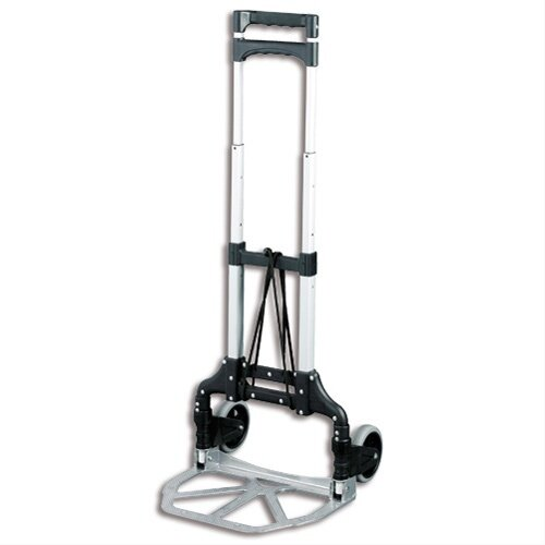 Lightweight Folding Trolley 60kg Capacity With Rubber Cushioned Wheels Ref LWFT/60/P