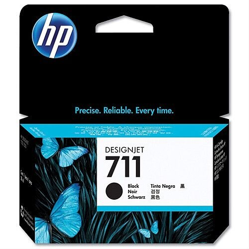 HP 711 Black Inkjet Cartridge 38ml CZ129A