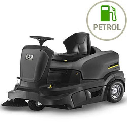 Karcher KM 90/60 R P Ride-on Petrol Engine Sweepers 10472040