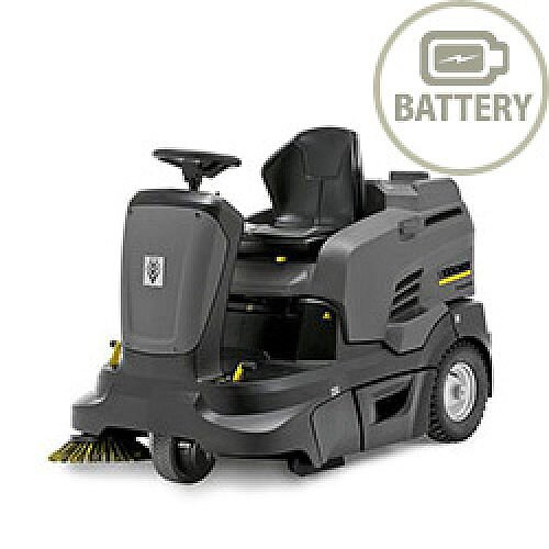 Karcher KM 90/60 R Bp Pack Advanced Ride-on Battery Power Sweepers 10473020