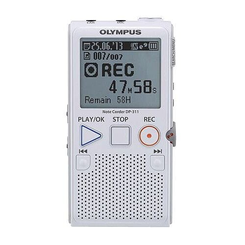 Olympus DP-311 Simple Notetaker Voice Recorder