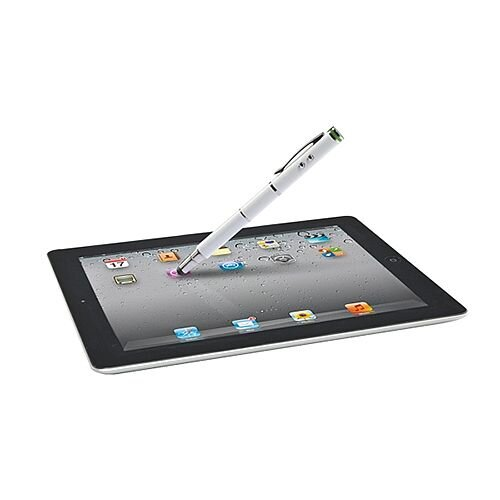 Leitz Complete 4 in 1 Stylus for Touchscreen Devices White