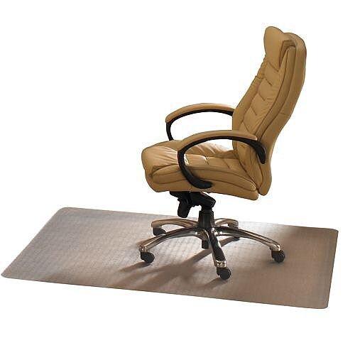Cleartex Advantagemat Chair Mat For Carpet Protection Rectangular 1200x900mm Thickness 2.2mm  Clear Ref FCPF119225EV