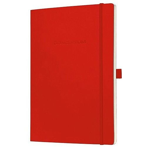 Sigel Conceptum Notebook Soft Cover 80gsm 194pp A4 Red Ref CO218