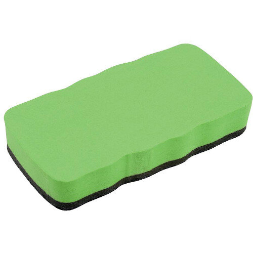 Drywipe Eraser Magnetic Lime Green