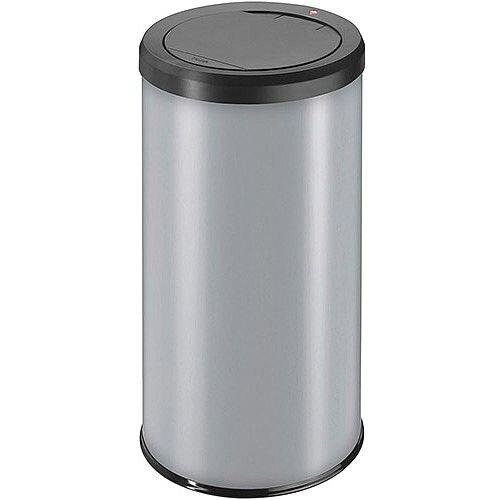 Hailo Big Bin Touch 45 Steel Coated Waste Bin 45 Litres  Grey