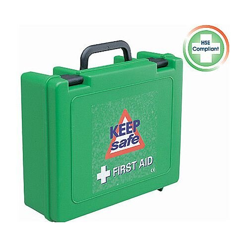 Green Box First Aid Kit Up to 10 Person