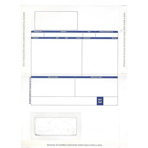 Pegasus Compatible Payslip Mailer Self Seal Ref MS29S Pack 500
