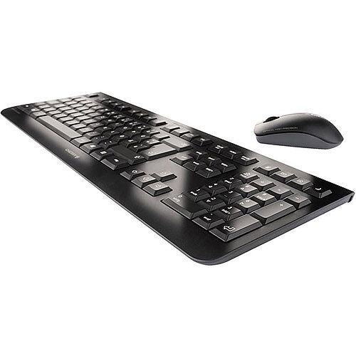 Cherry DW3000 Wireless Desktop Keyboard and Optical Mouse 2.4GHz Black Ref JD-0700GB