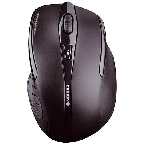 Cherry MW 3000 Five-Button Wireless Mouse 2.4GHz Optical Range 5m Black Ref JW-T0100