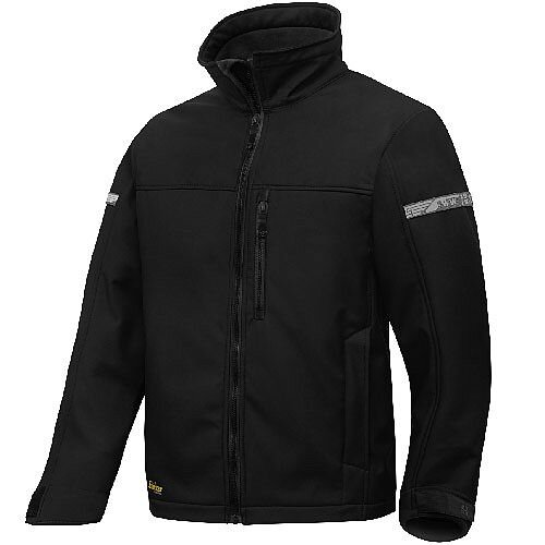 Snickers 1200 AllroundWork Softshell Jacket Black