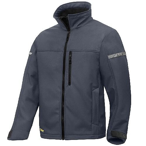 Snickers 1200 AllroundWork Softshell Jacket Steel Grey/Black
