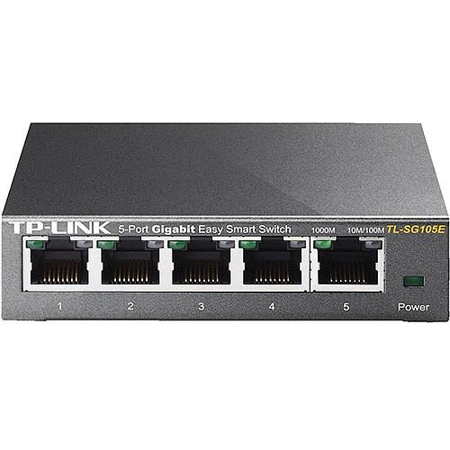 TP Link TL-SG105 5-Port Desktop Network Switch Ref TL-SG105