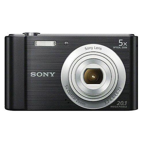 Sony DSC-W800 Digital Camera Kit 2.7in LCD 5x Zoom 20.1MP Black Ref SON2314
